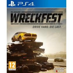 PS4 WRECKFEST - Jeux PS4 au prix de 34,95€