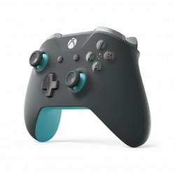 MANETTE BLUETOOTH XONE GRIS BLEU - Accessoires Xbox One au prix de 64,95€
