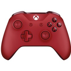 MANETTE BLUETOOTH XONE ROUGE - Accessoires Xbox One au prix de 59,95€