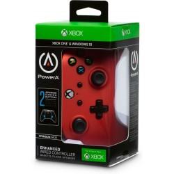 MANETTE FILAIRE XONE PC CRIMSON FADE POWER A - Accessoires Xbox One au prix de 29,95€