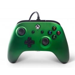 MANETTE FILAIRE XONE PC POWER A EMERALD FADE - Accessoires Xbox One au prix de 29,95€