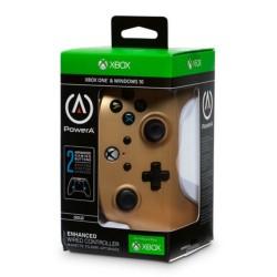 MANETTE FILAIRE XONE PC POWER A GOLD - Accessoires Xbox One au prix de 29,95€