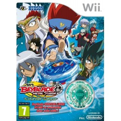 WII BEYBLADE METAL FUSION COUNTER LEONE - Jeux Wii au prix de 3,95€