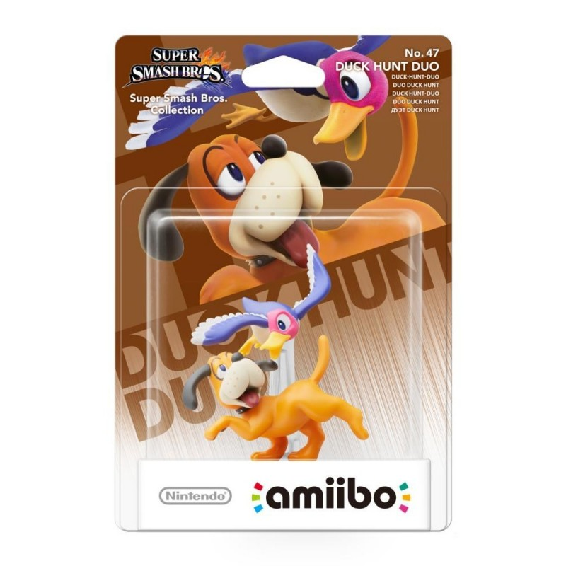 AMIIBO SUPER SMASH BROS 47 DUO DUCK HUNT - Figurines NFC au prix de 14,95 €