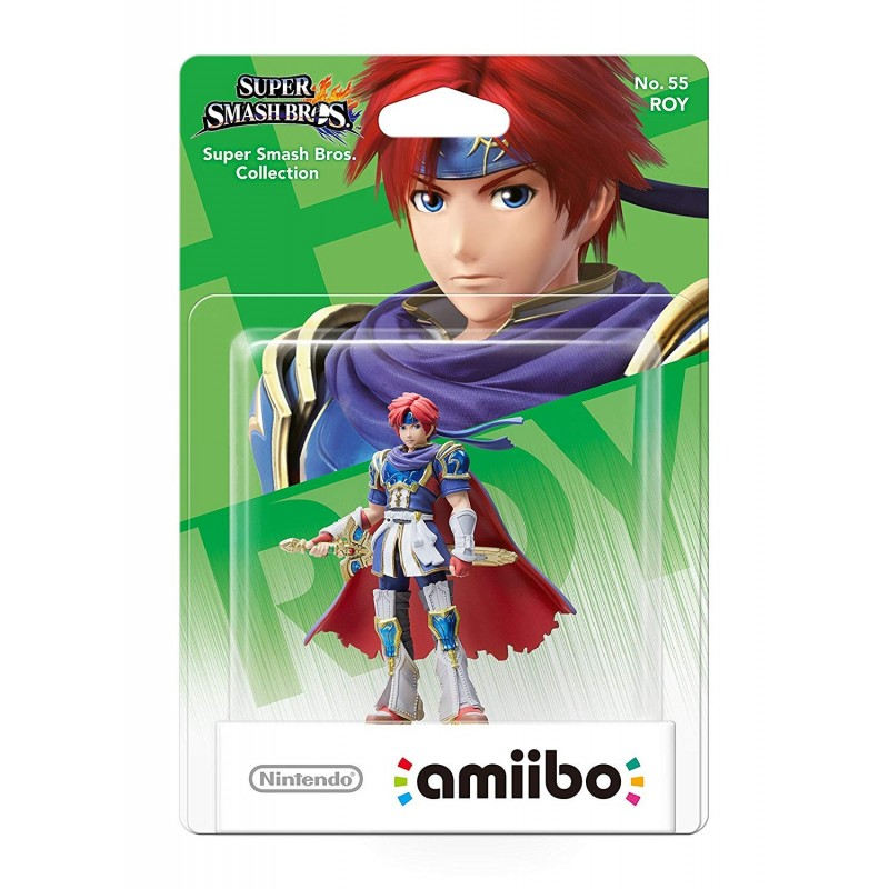 AMIIBO SUPER SMASH BROS 55 ROY - Figurines NFC au prix de 14,95 €