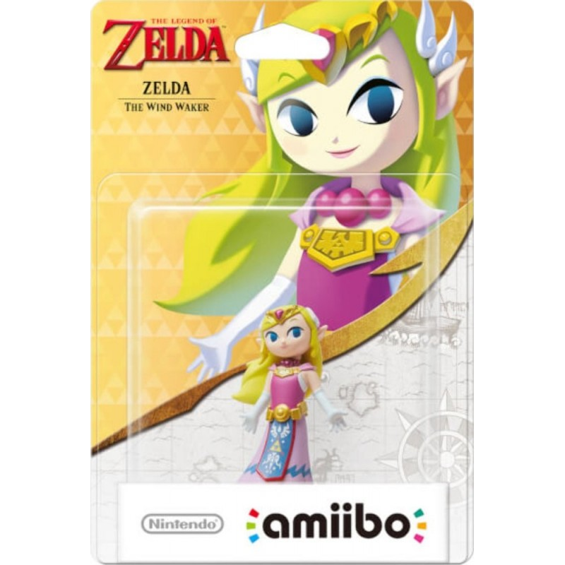 AMIIBO ZELDA THE WIND WAKER - Figurines NFC au prix de 19,95 €