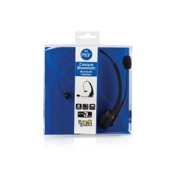 CASQUE BLUETOOTH PS3 UNDERCONTROL 1 OREILLETTE - Casques Gaming au prix de 14,95€