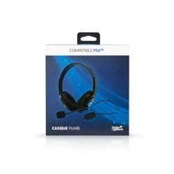 CASQUE PS4 XBOX ONE UNDERCONTROL JACK 1.4M - Casques Gaming au prix de 14,95€
