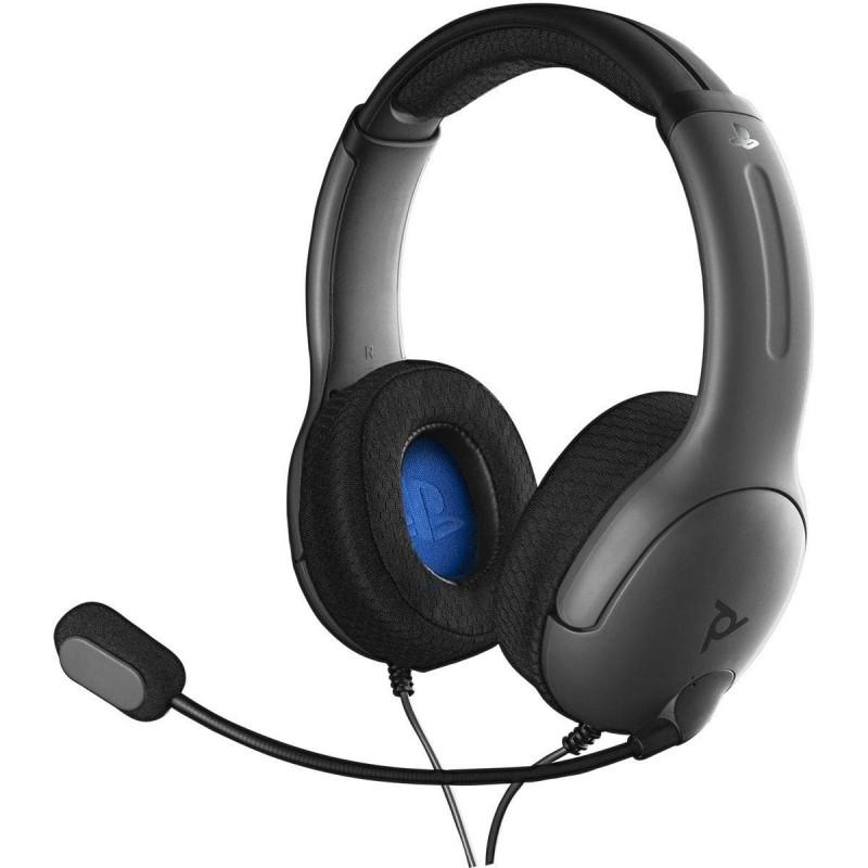 CASQUE SONY PS4 LVL 40 NOIR - Casques Gaming au prix de 34,95€