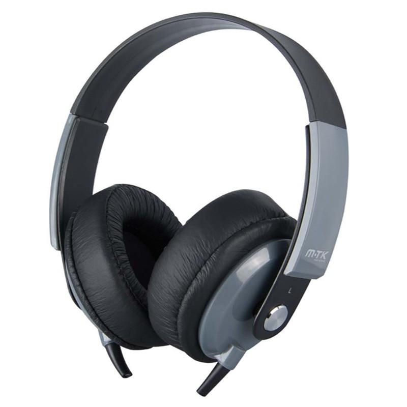 CASQUE FILAIRE MTK K3647 NOIR - Ecouteurs Téléphones au prix de 14,95€