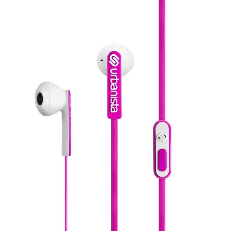 ECOUTEURS URBANISTA SAN FRANCISCO ROSE PANTHERE - Ecouteurs Téléphones au prix de 17,95€