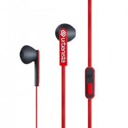 ECOUTEURS URBANISTA SAN FRANCISCO ROUGE - Ecouteurs Téléphones au prix de 17,95€