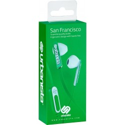 ECOUTEURS URBANISTA SAN FRANCISCO VERT - Ecouteurs Téléphones au prix de 17,95€