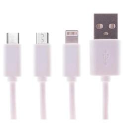 CHARGEUR USB FREAKS & GEEKS CHARGE 3 EN 1 - Connectique Multimédia au prix de 7,95€