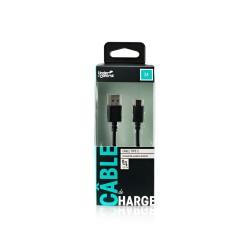 CHARGEUR USB UNDERCONTROL TYPE C 2A NOIR 1.2M - Connectique Multimédia au prix de 6,95€