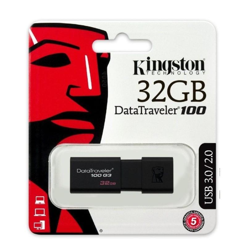 CLE USB KINGSTON 32 GO - Supports de Stockage au prix de 19,95€