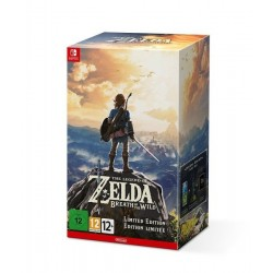 SWITCH ZELDA BREATH OF THE WILD COLLECTOR - Jeux Switch au prix de 109,95 €