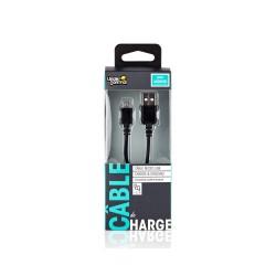 CHARGEUR USB UNDERCONTROL MICRO USB NOIR - Connectique Multimédia au prix de 6,95€