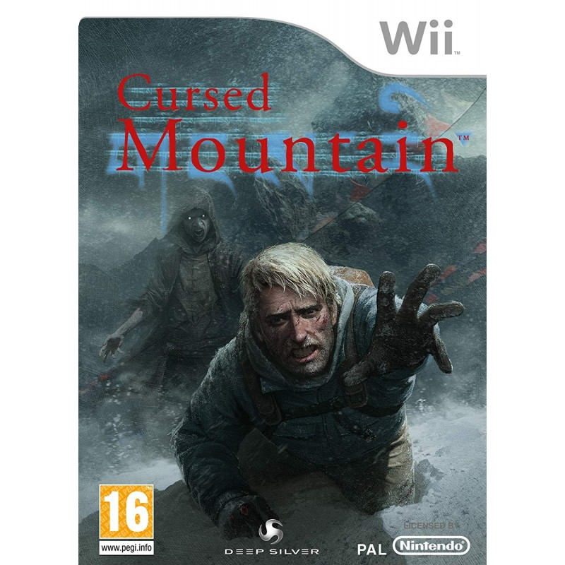 WII CURSED MOUNTAIN - Jeux Wii au prix de 4,95€
