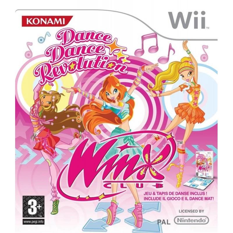 WII WINX DANCE DANCE REVOLUTION - Jeux Wii au prix de 4,95€