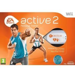 WII EA SPORT ACTIVE 2 - Jeux Wii au prix de 4,95€