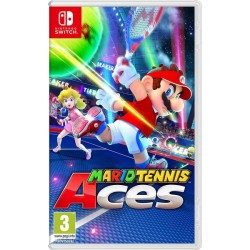 SWITCH MARIO TENNIS ACES - Jeux Switch au prix de 54,95 €