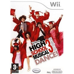 WII HIGH SCHOOL MUSICAL - Jeux Wii au prix de 5,95€