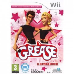 WII GREASE - Jeux Wii au prix de 6,95€