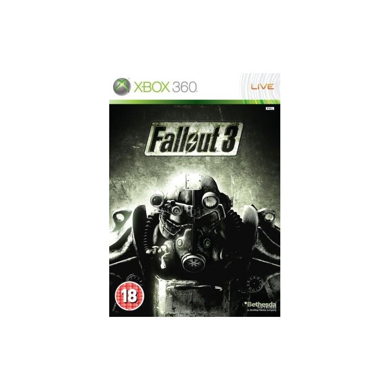 X360 FALLOUT 3 - Jeux Xbox 360 au prix de 6,95€