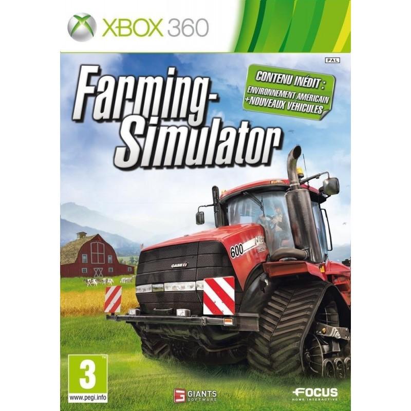 X360 FARMING SIMULATOR - Jeux Xbox 360 au prix de 14,95€