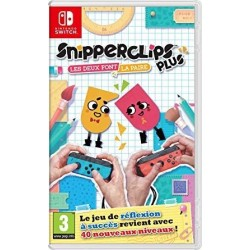 SWITCH SNIPPERCLIPS PLUS - Jeux Switch au prix de 29,95 €