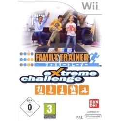 WII FAMILY TRAINER - Jeux Wii au prix de 6,95€