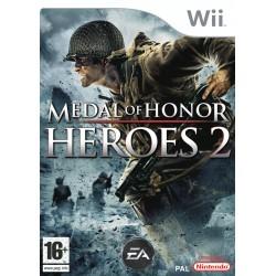 WII MEDAL OF HONOR HEROES 2 - Jeux Wii au prix de 5,95€