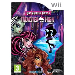 WII MONSTER HIGH UNE NOUVELLE ELEVE A MONSTER HIGH - Jeux Wii au prix de 19,95 €