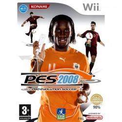 WII PRO EVOLUTION SOCCER ( PES ) 2008 - Jeux Wii au prix de 2,95€