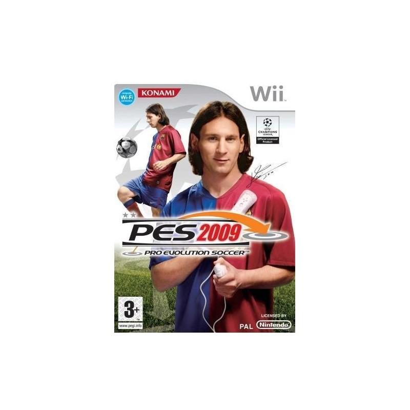 WII PRO EVOLUTION SOCCER ( PES ) 2009 - Jeux Wii au prix de 4,95€