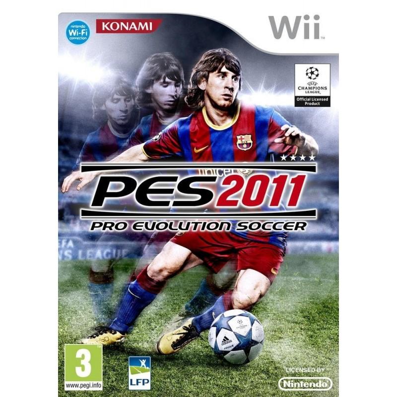 WII PRO EVOLUTION SOCCER ( PES ) 2011 - Jeux Wii au prix de 6,95€