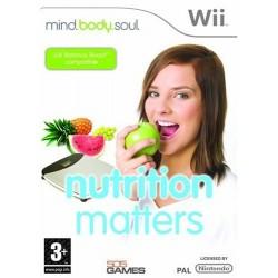 WII NUTRITION - Jeux Wii au prix de 5,95€