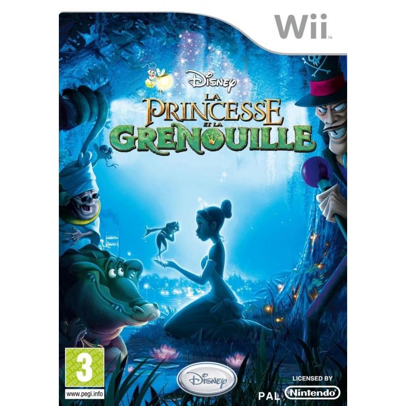WII PRINCESSE ET LA GRENOUILLE - Jeux Wii au prix de 9,95€