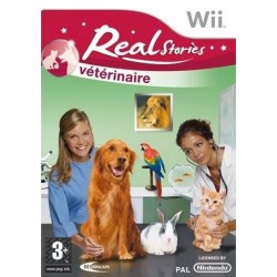 WII REAL STORIES VETERINAIRE - Jeux Wii au prix de 6,95 €