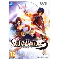 WII SAMURAI WARRIORS 3 - Jeux Wii au prix de 12,95€