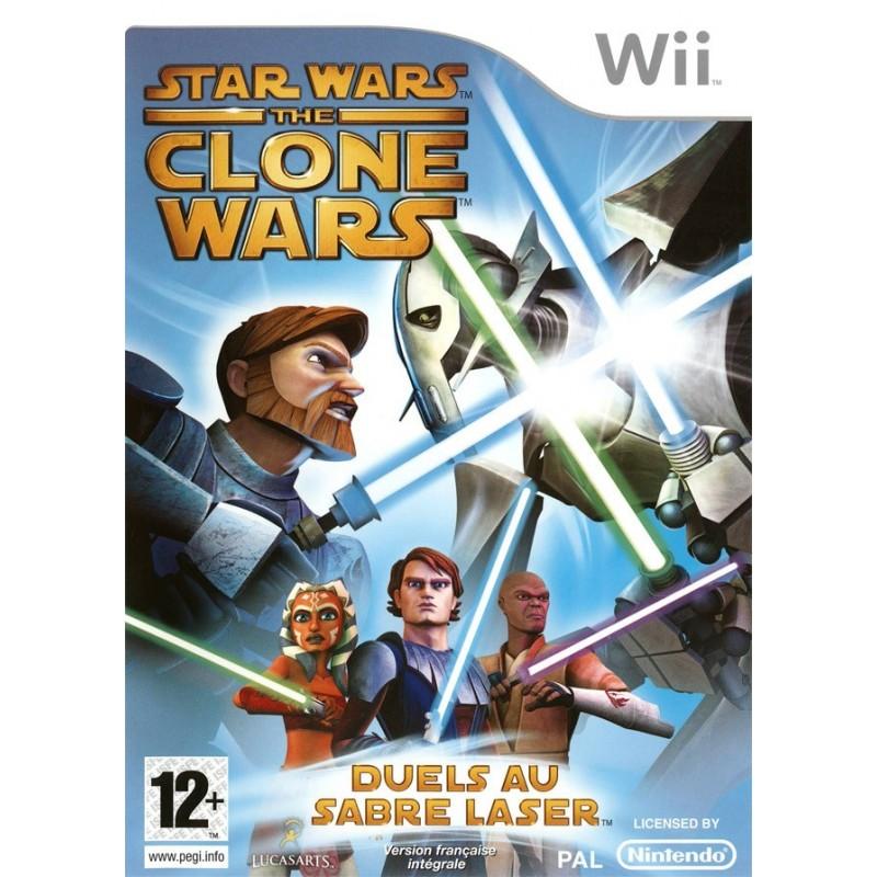 WII STAR WARS THE CLONE WARS - Jeux Wii au prix de 9,95€
