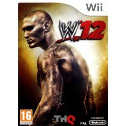 WII WWE 12 - Jeux Wii au prix de 7,95€