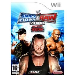 WII WWE SMACKDOWN VS RAW 2008 - Jeux Wii au prix de 3,95€