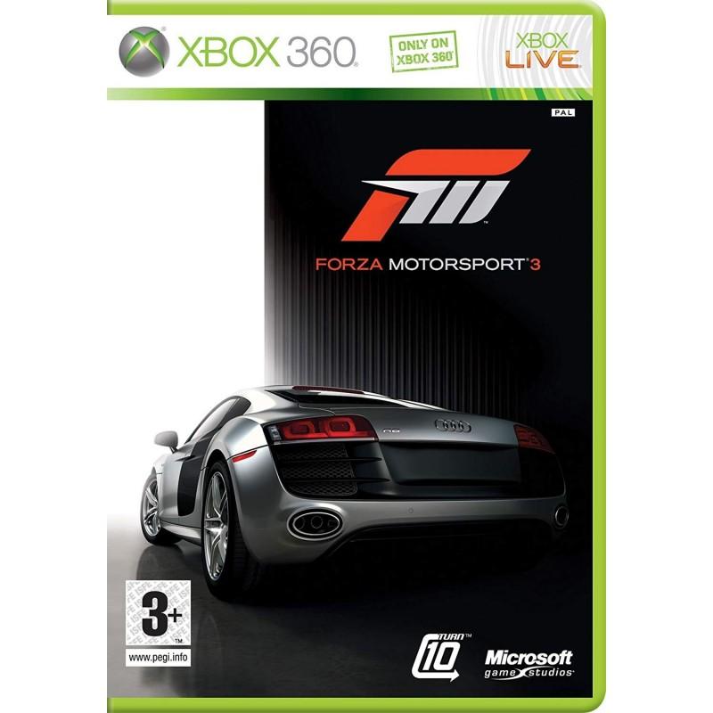 X360 FORZA MOTORSPORT 3 - Jeux Xbox 360 au prix de 4,95€