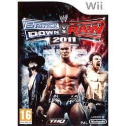 WII WWE SMACKDOWN VS RAW 2011 - Jeux Wii au prix de 6,95€