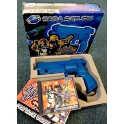 SAT PACK VIRTUA COP 2 ET VIRTUA GUN - Jeux Saturn au prix de 49,95€