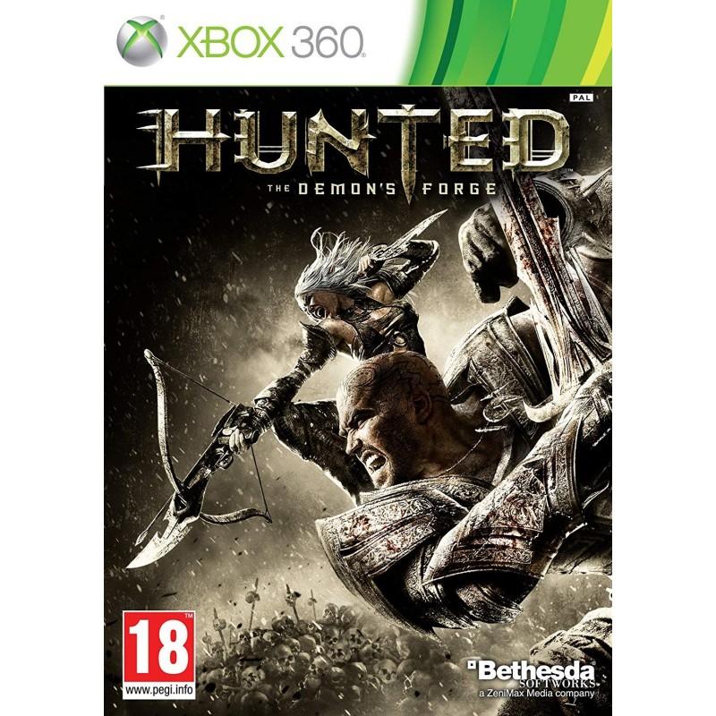 X360 HUNTED DEMON FORGE - Jeux Xbox 360 au prix de 6,95€