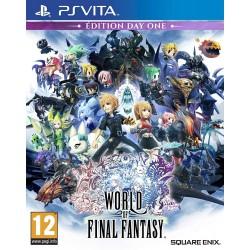 PSV WORLD OF FINAL FANTASY - Jeux PS Vita au prix de 19,95€