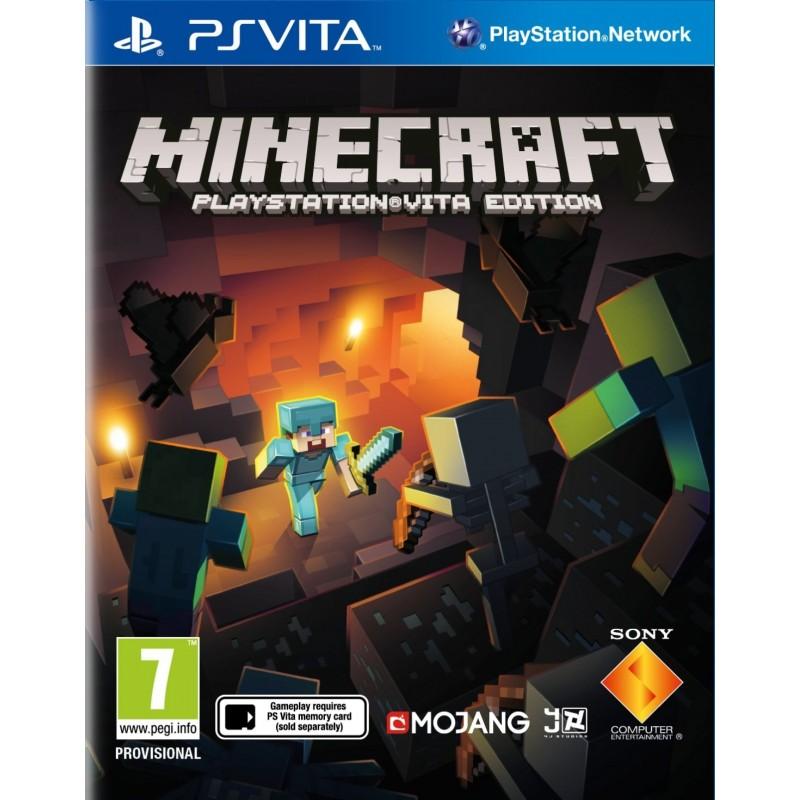 PSV MINECRAFT - Jeux PS Vita au prix de 14,95€